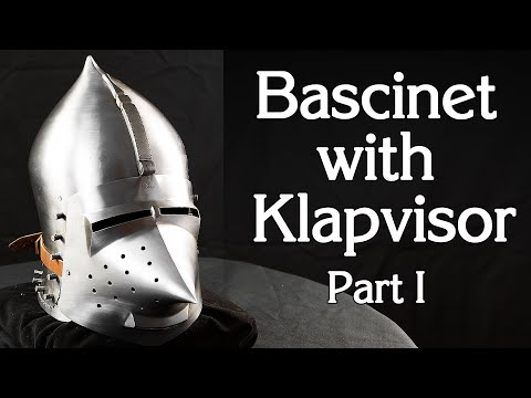 How to make bascinet 'Onion-top'. Part1, eng sub.