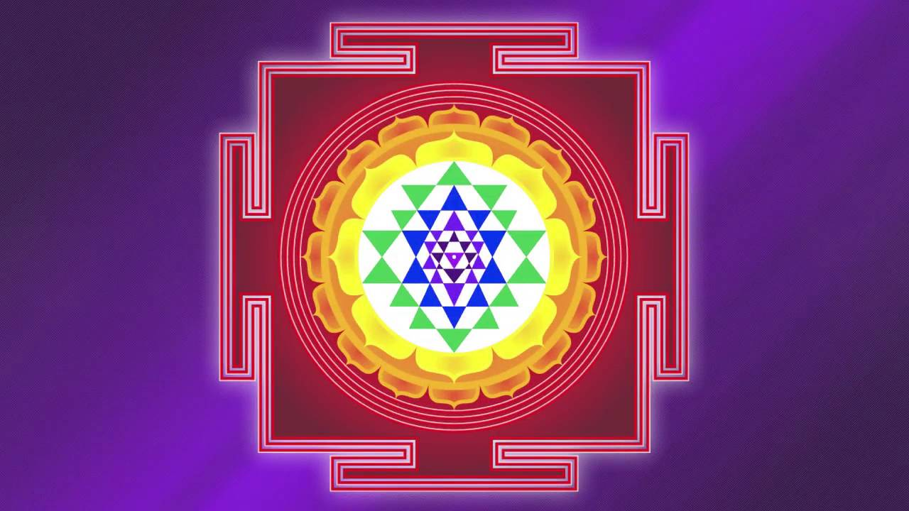 The Color Violet And The Sri Yantra To Create Life Youtube