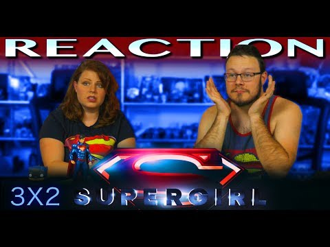 """Supergirl 3x2 REACTION!! """"Triggers"""""""