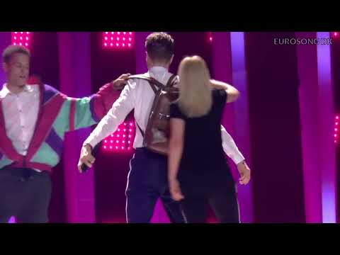 ESC 2018: Mikolas Josef - Lie To Me (highlights - 2nd rehearsal)