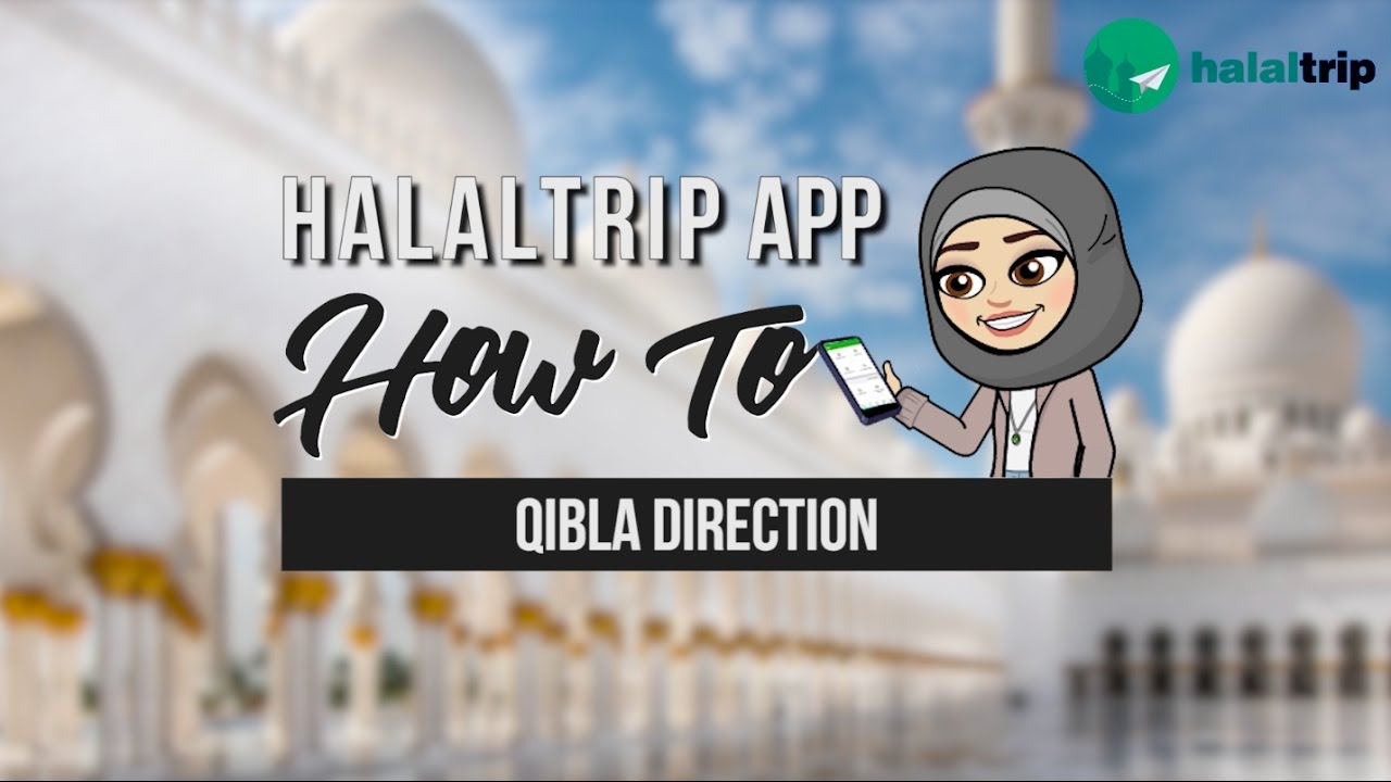 Qibla (Kaaba) Direction Locator For Any Location Using the