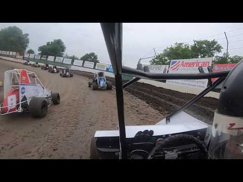1st Night of Spring Fling Started: 7th Finished: 6th out of 9. - dirt track racing video image