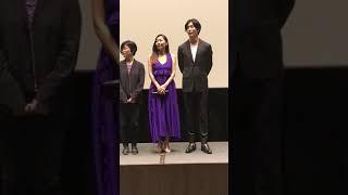2018年5月12日公開 映画『蝶の眠り』 初日舞台挨拶 @109シネマズ二子...