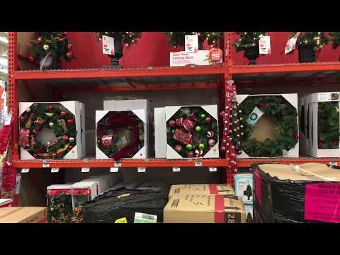 Christmas Decorations at Home Depot  2017