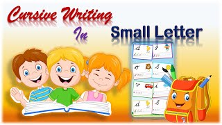 Cursive Writing || small letters || For Beginners