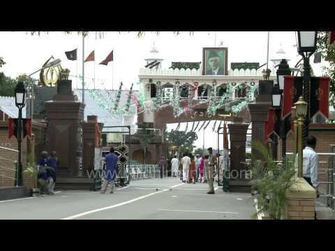 Wagah: The only road border crossing between India and Pakistan