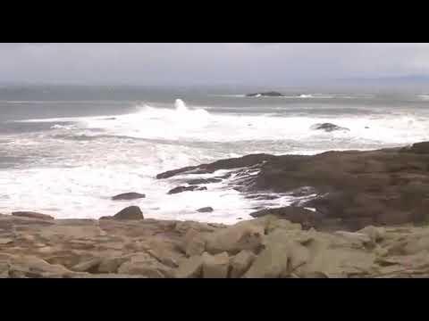 Fuertes vientos azotan Burela este viernes