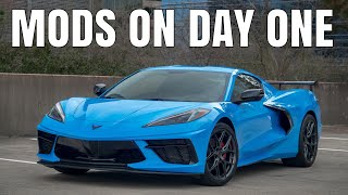 homepage tile video photo for My 2021 C8 Corvette is HERE! - Modified on DAY ONE!
