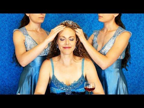 ASMR Scalp Massage & Whispering ♥ Guided Meditation for Relaxation & Sleep, Ear to Ear Whisper