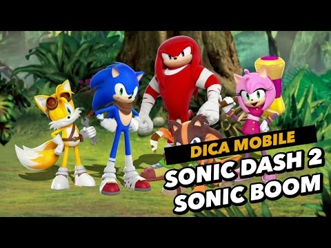 Dica de download mobile do dia: Sonic Dash 2: Sonic Boom