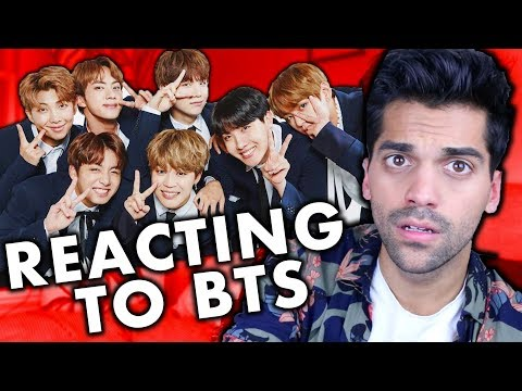 FIRST TIME REACTING TO K-POP BTS