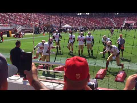 Vlog #3: 2017 49ers training camp