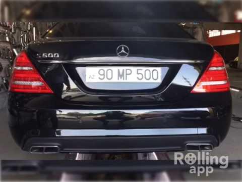 Mercedes-Benz S600 5.8i W220 V12 Kumandalı Cutout Egzoz Sesi