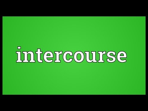 Intercourse Meaning