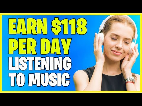 Earn FREE Paypal Money LISTENING TO MUSIC | *Make Money Online FAST!*
