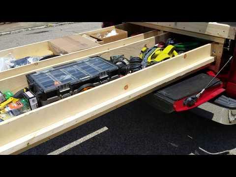 DIY Truck Bed Slide