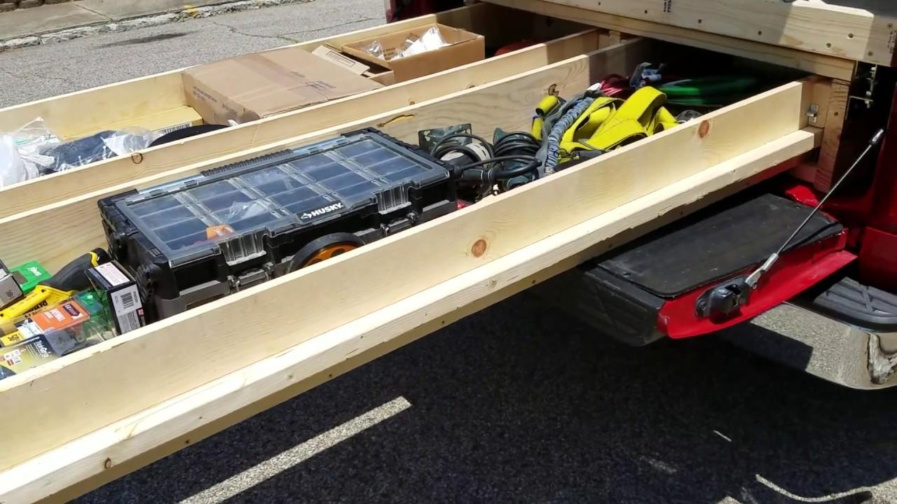 Diy Truck Bed Slide Youtube