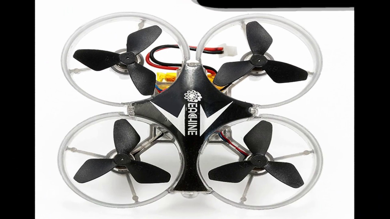 E-012 micro ducted quadcopter review