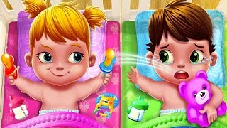 Fun Baby Care Game - Baby Twins Adorable Two - Play Fun Dress Up, Bath Time & Care Games For Kids