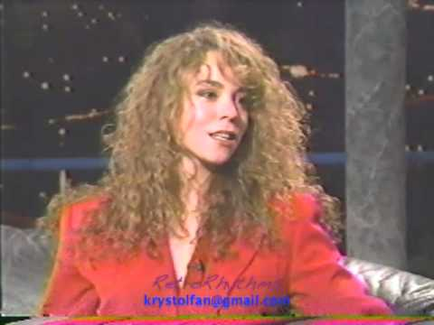 Mariah Carey 1990  First TV ? Part Two