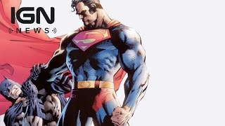 See Superman Choke Batman in New BvS Concept Art - IGN News