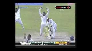 Sri Lanka v PakisSangakkara misses double in draw