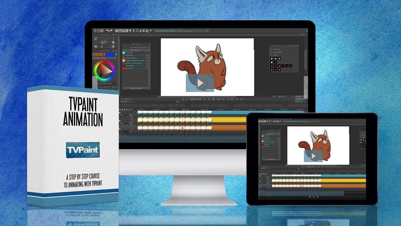 TVPaint Animation 2021 crack