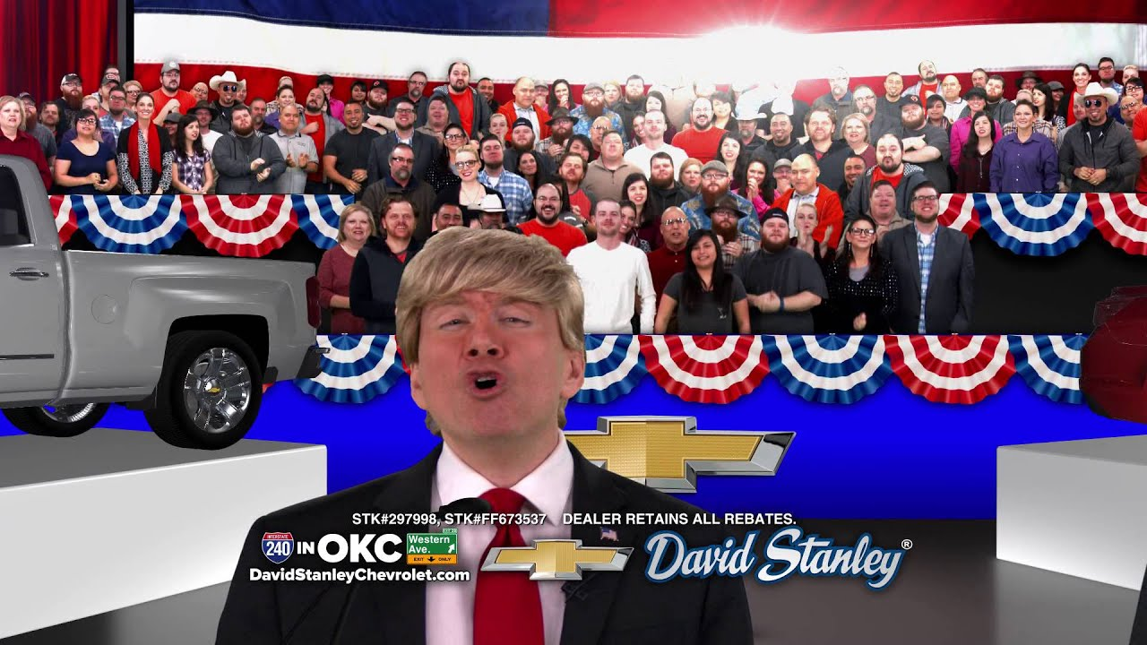 David Stanley Chevrolet Trump Month