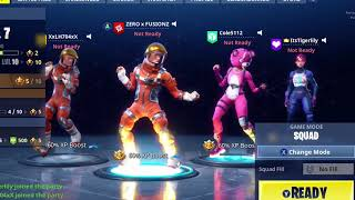 Dancing With The Squad | Fortnite Battle Royale