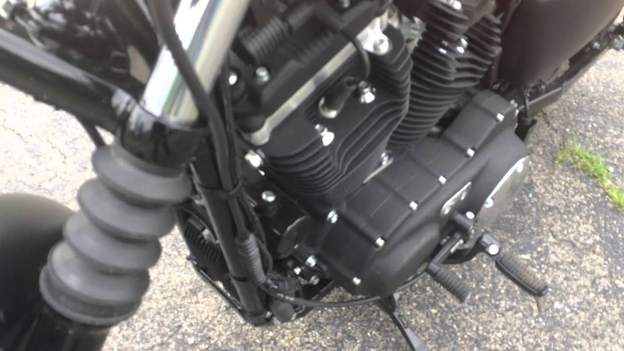 New Harley Davidson Sportster Iron 883 has ticking or knocking noise