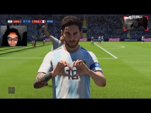 Argentine - France: On a demandé à deux pro-gamers de jouer le match sur FIFA 18