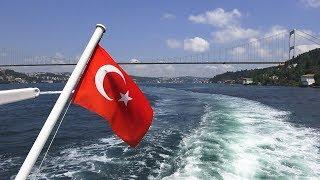 Boğaz Turu / Bosphorus Boat Tour İstanbul 2018 ᴴᴰ