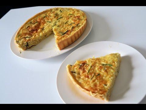 recette-79:-quiche-à-l'oignon-/-onion-quiche-recipe