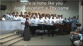 """""""Oh Lord, How Excellent"""" United Voices Choir w/ Anthony Brown"""
