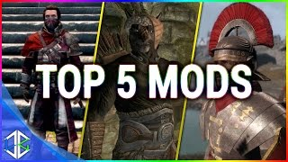 Top 5 Console Mods 8 Awesome Mods Skyrim Special Edition