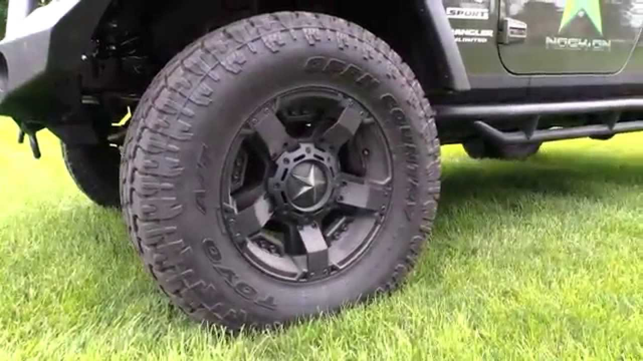 Green Jeep Wrangler >> Jeep Built with Rockstar2 & Toyo AT2 Extreme - YouTube