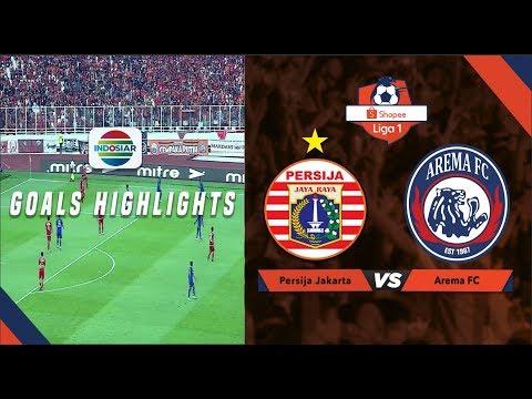 Persija Jakarta (2) vs Arema Malang (2) - Goal Highlights | Shopee Liga 1