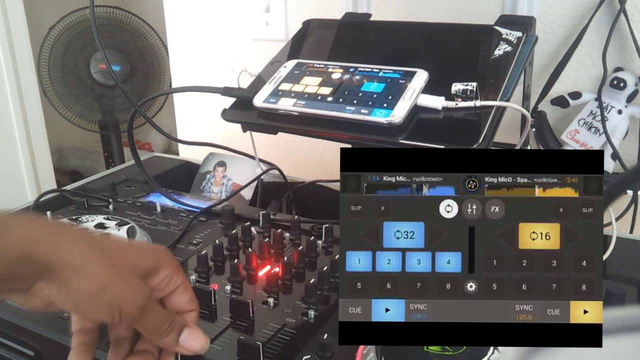 MixVibes Cross Dj Android Review 2014 External Mixer Mode Hd review