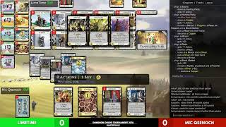 Dominion Online Championship Semifinals: Limetime vs Mic Qsenoch