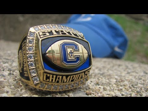 Grant Hemmer gets a ring