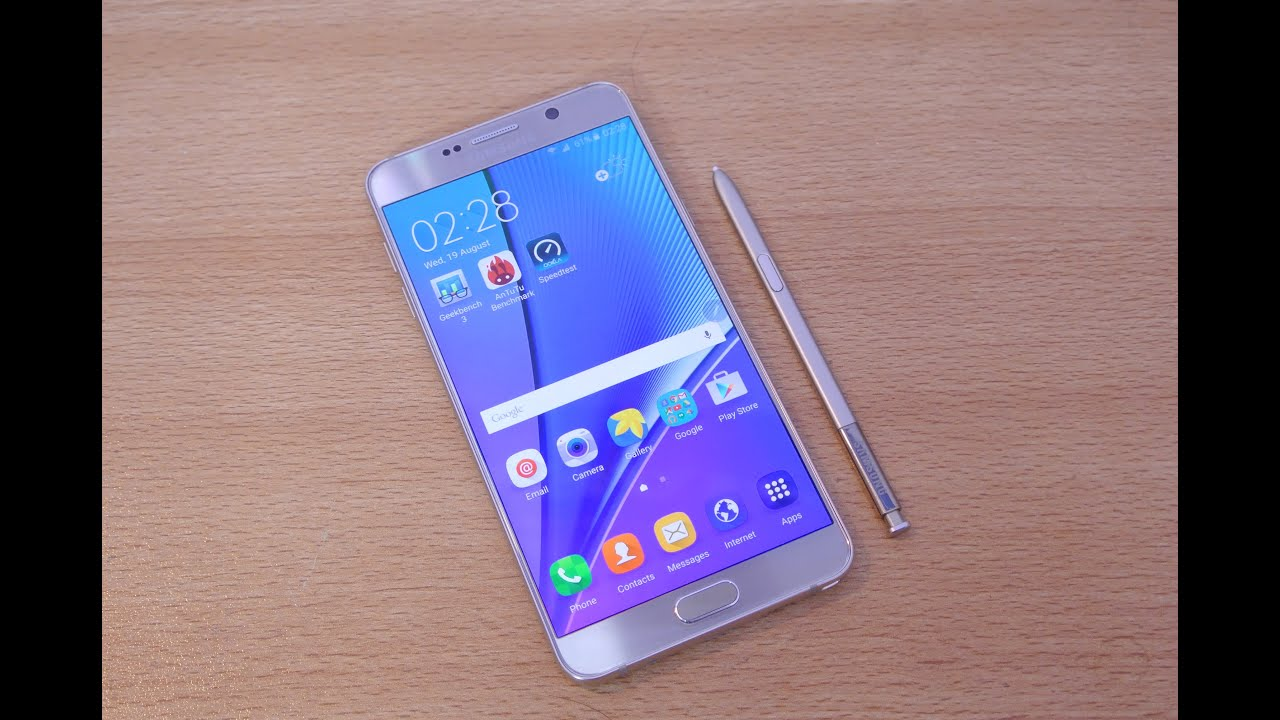 Samsung galaxy note 5 full review hd youtube ccuart Gallery