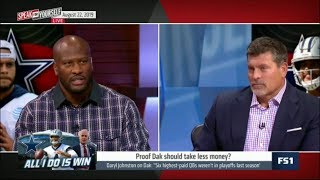 SPEAK for YOURSELF | James Harrison heated debate: Proof Dak P…