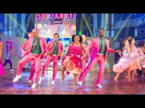Blackpool Group Dance to 'Nicest Kids in Town' by James Marsden - Strictly Come Dancing 2016: Week 9