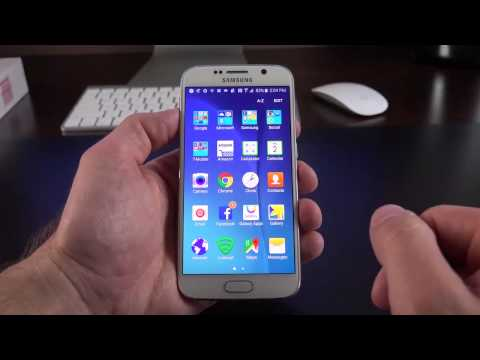 Samsung Galaxy S6  Unboxing & Review