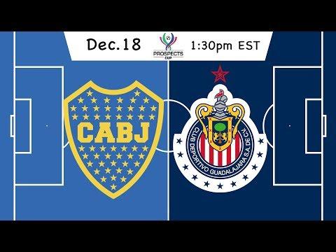 Prospects Cup: Boca Juniors vs. Chivas