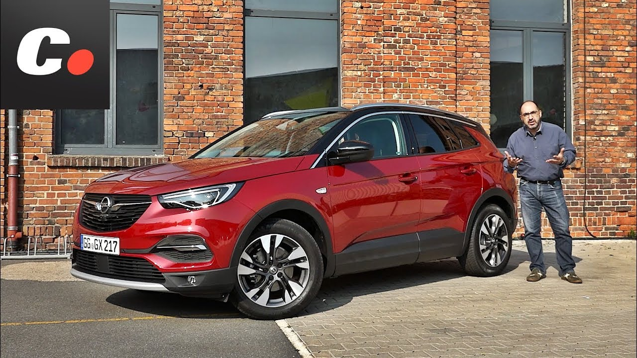 Opel Grandland X SUV | Primera prueba / Test / Review en español | coches.net - YouTube