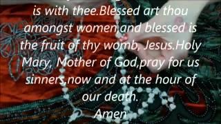 Rosary for beginners: Luminous mystery