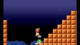 Super Mario All-Stars - 100 Lives Trick in World 3-1 of Super Mario Bros. (All Stars Version) - User video
