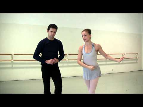 Arabesque Press Lift in Ballet, a How To by Prima Ballerina,