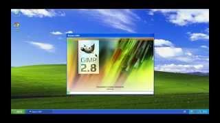 Видео уроки по GIMP для начинающих. Установка GIMP на Windows.